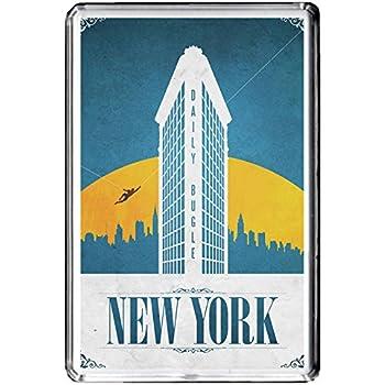 B447 NEW YORK USA AIMANT POUR LE FRIGO USA VINTAGE TRAVEL PHOTO REFRIGERATOR MAGNET