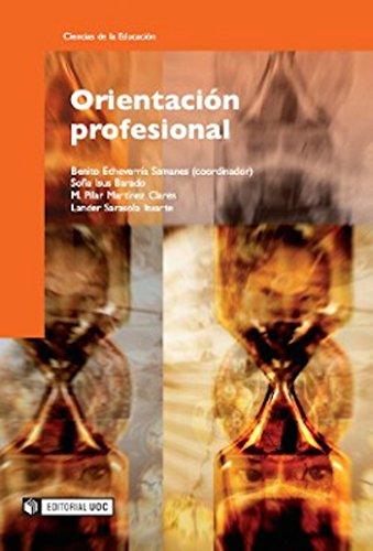 Orientación profesional (Manuales) por Benito Echeverría Samanes