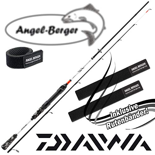 Angel-Berger Daiwa Ninja X SF Spin Spinnrute Angelrute Raubfischrute Rutenband (1,95m 5-18g)