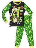 Ben 10 - Pijama para Niños - Ben 10 - Ajuste Ceñido - 10 - 11 Años