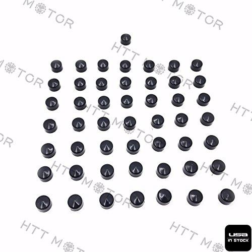 Httmt- 50 pièces Noir capuchon Dress Kit pour 07-17 Harley Touring Engine Trans Primaire Plus
