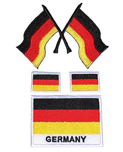 I Patch   Parches   0193   Bandera Alemania   BRD