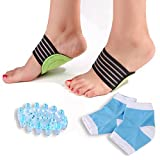 #7: Bitly Plantar Fasciitis, Arch, Heel & Ankle Support Kit, Foot Massager Plantar Fasciitis Sock
