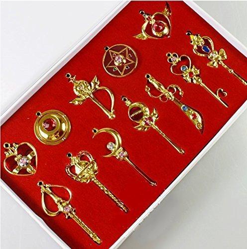 Accesorio Sailor Moon - 12 colgantes