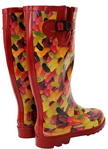 Footwear Mädchen Damen amp;h A Arbeits gummistiefel jelly Bean Grün qZ5TATRnx