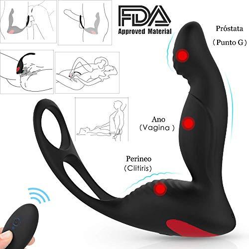 Estimulador de Próstata con Anillo