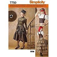 Simplicity 7750.R5 - Patrones de costura para disfraces históricos