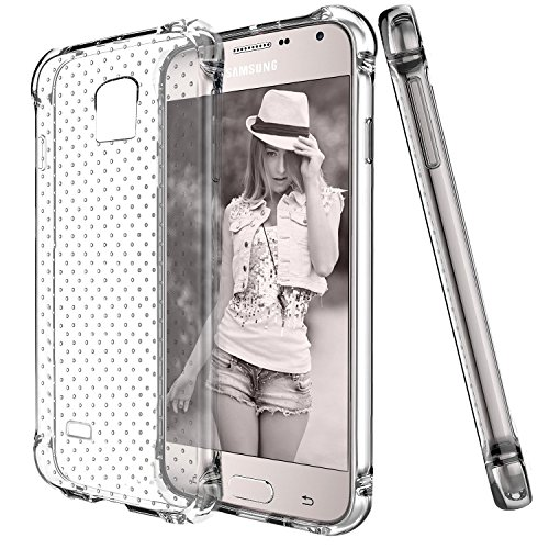 elove Soft Flexible TPU Silicon Gel Slim fit/Lightweight/Anti-Knock/Shock-Proof Protective Back...