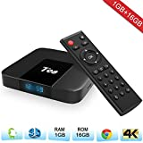 Zenoplige T98 Android TV BOX Android 7.1 Eibisch 1G 16G 4 Karat H.265 64BIT DLNA Wifi LAN Smart TV BOX