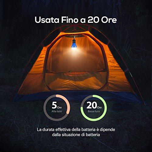 Zoom IMG-2 topelek led da campeggio esterno
