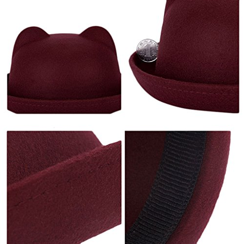 chendongdong - Chapeau - Femme Rouge - Winered