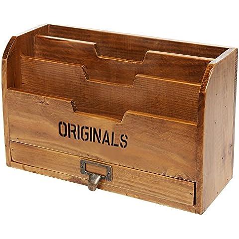 Casa oficina escritorio papel carta correo almacenamiento organizador clasificador portalimas