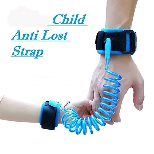 HOME CUBE® Child Safety Anti Lost Wrist Link Harness Strap Rope Leash Walking Hand Belt