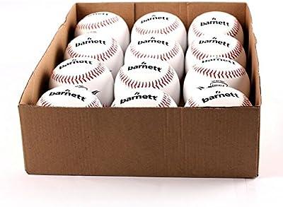 Barnett práctica pelota de béisbol TS-1, tamaño 9, color blanco