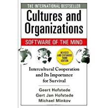 Cultures and Organizations: Software of the Mind, Third Edition by Hofstede, Geert, Hofstede, Gert Jan, Minkov, Michael (2010) Paperback