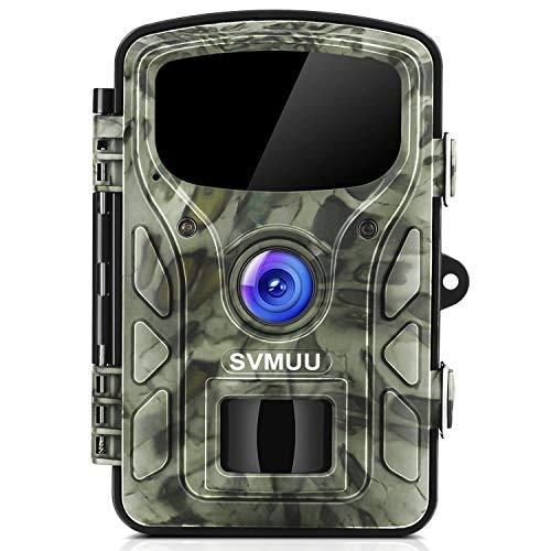 "Preisvergleich Produktbild SVMUU Wildkamera 14 MP 1080P Jagdkamera Beutekameras 2.4"" LCD mit 940nm IR LED's Sensoren mit Bewegungsaktivierung"