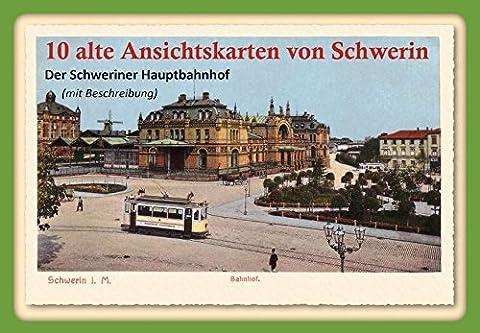10 alte Ansichtskarten von Schwerin: Der Schweriner