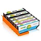 Gohepi 33XL Pack Compatibles Epson 33 33XL, Pack de 6 Travailler avec Epson Expression Premium XP-7100 XP-540 XP-640 XP-635 XP-530 XP-830 XP-645 XP-900 XP-630 XP-635 XP-630