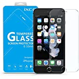 iPhone 7 Screen Protector Glass - iXCC 0.3mm Premium High Definition Clear Tempered Glass Screen Protector Film for Apple iPhone 7