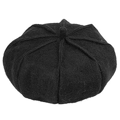 Baskenmützen & Chenille Deckel - Kürbis Barette Damen Hut ManChDa Romantische Maler Hut Künstler Temperament Berets für Frauen