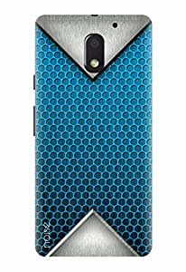 Noise Designer Printed Case / Cover for Motorola Moto E3 Power / Patterns & Ethnic / Grey Prism Design