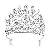 KPHY Belle Coiffure/Haut De La Page Décorations Couronne De Mariée Ornements pour Cheveux Mariage D'Accessoires Diamond De Coiffures De Robes De Mariée Et des Accessoires.