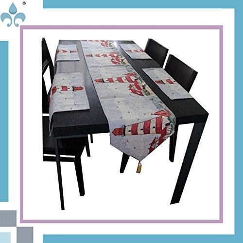 Preisvergleich Produktbild GGCCX Tischläufer Europäischen Cartoon Serie Tischläufer