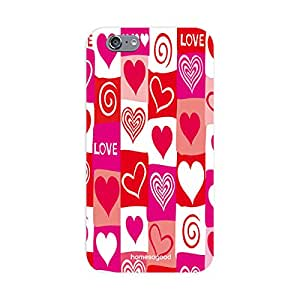 HomeSoGood Love Is Everywhere Multicolor 3D Mobile Case For iPhone 6 (Back Cover)