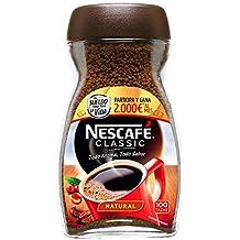 NESCAFÉ Café Classic Soluble Natural | Bote de cristal | Paquete de 200g ...