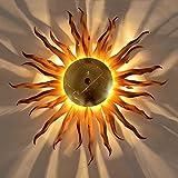 Diator M / geschmiedete Sonne Ø 40cm / rost gold / Wandlampe / Deckenlampe
