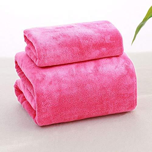 GBYJ Badetuch Beauty-Salon Leinen liefert Massage Massage Shop Körper Bett Bett spezielle Verdickung erhöhen Handtuch Blätter @ Rose rot Verdickung Towel_80cmx190cm ohne Löcher (Bett-blatt-rose)