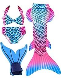 SPEEDEVE Coda di Sirena per Bambina con Bikini