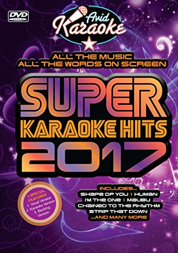 SUPER KARAOKE HITS 2017 [DVD de Audio]