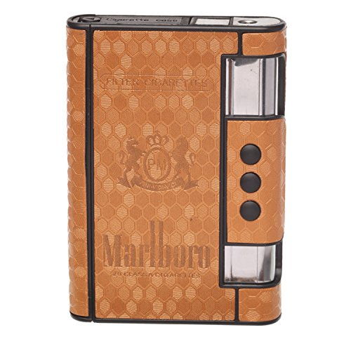 Katcase Malboro Cigarette Case with inbuilt lighter (Malboro dunhill Camel Kent)  available at amazon for Rs.550