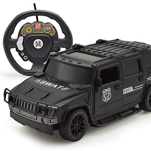 Ycco Schnelle RC-Autos Off Road 1:20 2WD-Fernsteuerung für Erwachsene Voll funktionsfähiger ferngesteuerter Hummer (H2) 1:10 Skalierungsmerkmale Arbeitslichter, Einzelradaufhängung, Alufelgen-Reifen, (Hummer H2 1 10)