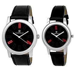 Timewear Analog Watches for Couple