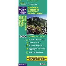 TOP75021 PYRENEES CATALANES/FONT ROMEU/CANIGOU 1/75.000