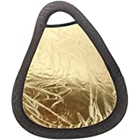 SODIAL(R) Golden / Silber Doppelseitige Fotografie Reflektorscheibe Illuminator