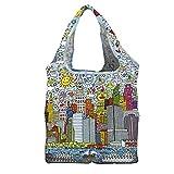 Fridolin Shoppertasche Einkaufstasche James Rizzi My New York City Größe ca. ca. 42 x 48 cm