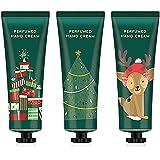 Crema Mani, set Crema Mani Set Regalo di Natale 3 Pezzi/set Idratante Crema Nutriente Formula non Grassa Nutriente, Profondam