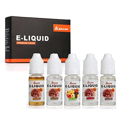 Salcar liquido, una confezione (5 flaconi da 10 ml) per