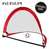 Fussballtor Kinder Pop Up Fußballtore Faltbare Indoor Outdoor Spiele Garten Spielzeug Tragetasche 3 4 5 Jahre Mädchen Junge