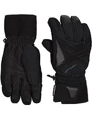 Ziener gomser GTX (R) + Gore Active Glove Ski Alpine–Guantes de esquí, otoño/invierno, hombre, color negro, tamaño 10,5