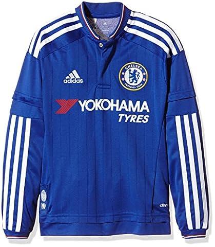 Adidas Maillot à manches longues garçon FC Replica Bleu Chelsea Blue/White/Power Red 176 cm