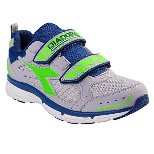 Diadora , Jungen Sneaker C2368 GRIGIO/VERDE