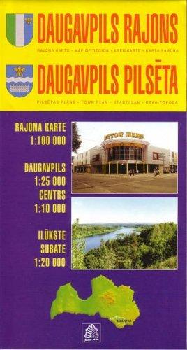 Daugavpils Region 2003: Daugavpils Town Plan