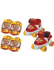 MONDO - A1102540 - Vélos et Véhicules pour enfants - Patins à roulettes Cars + Protections