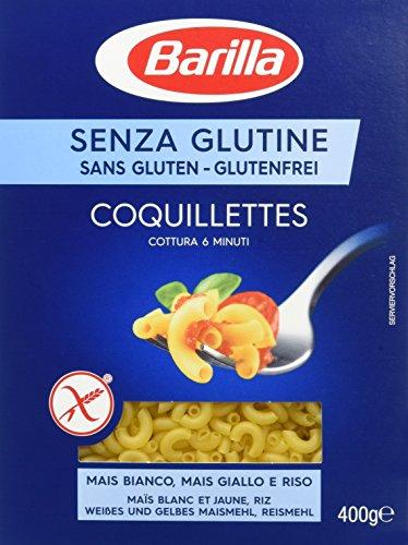 Barilla Pâtes Coquillettes sans Gluten 400 g - Lot de 4