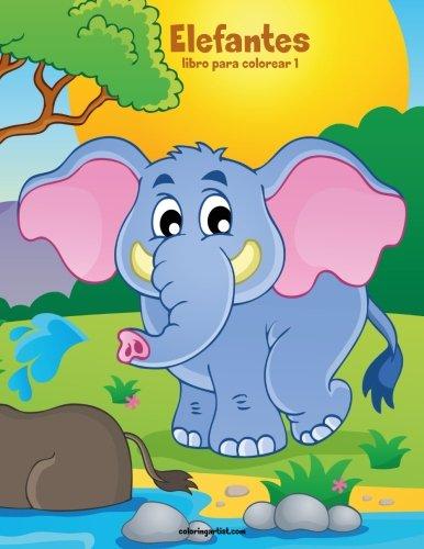 Elefantes libro para colorear 1: Volume 1