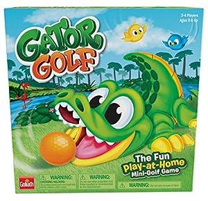 Goliath Games 31240.006 Gator, Mini Golf para Jugar en casa, Juego para niños Mayores de 4 años